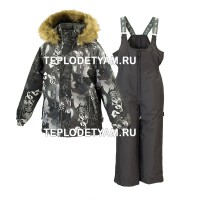 Костюм для мальчика Huppa (арт. 41480030-82818 Winter, dark gray)