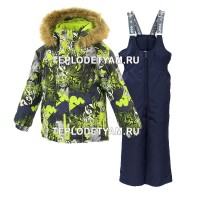 Костюм для мальчика Huppa (арт. 41480030-82847 Winter, lime patterrn navy)