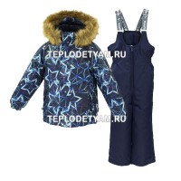 Костюм для ребенка Huppa (арт. 41480030-83486 Winter, navy pattern navy)